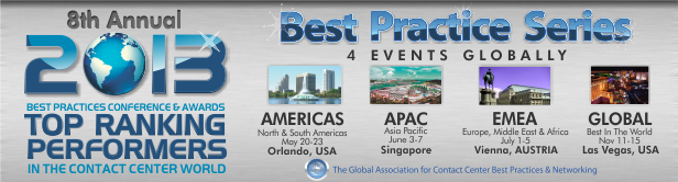 2013 Top Ranking Performers conferences